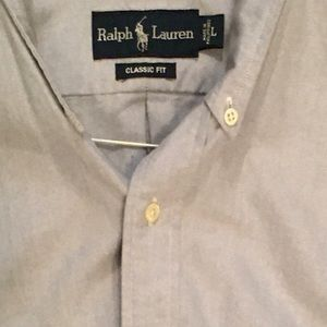 Polo Button Down Long-Sleeved Shirts